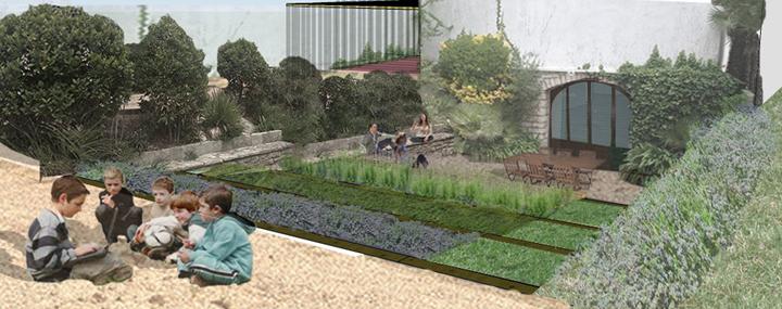 Jardín de De Buena Planta para una masía en Argentona