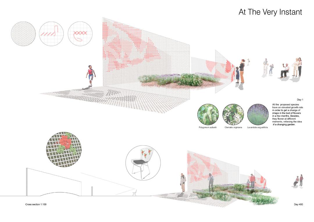 Instalación para el concurso Jardín de Metis de De Buena Planta