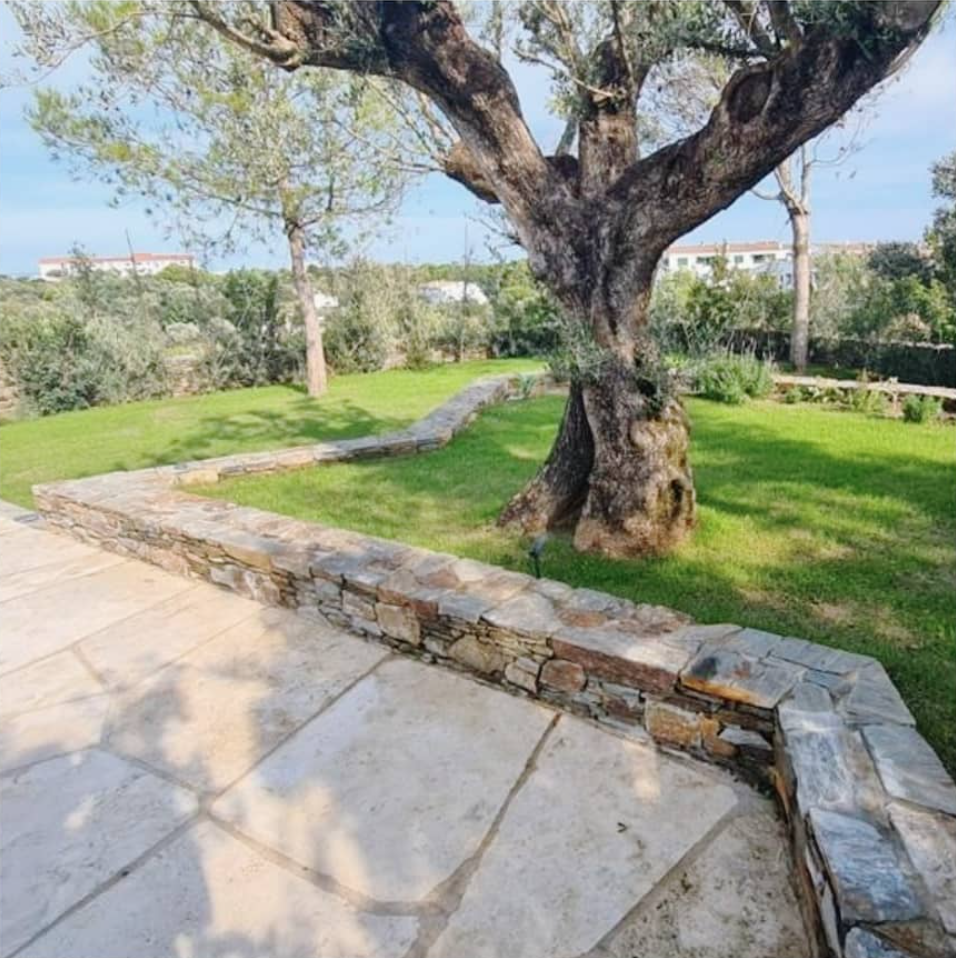 Jardinería en Vivienda de Cadaqués por De Buena Planta